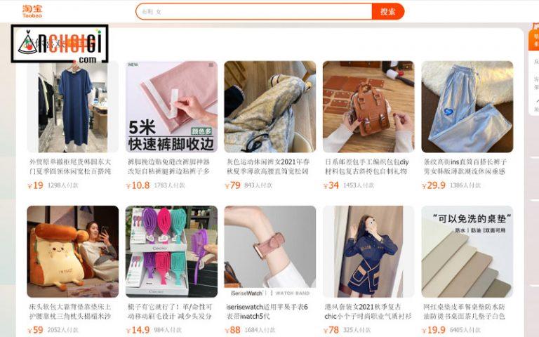 Cách tự đặt mua hàng từ Taobao