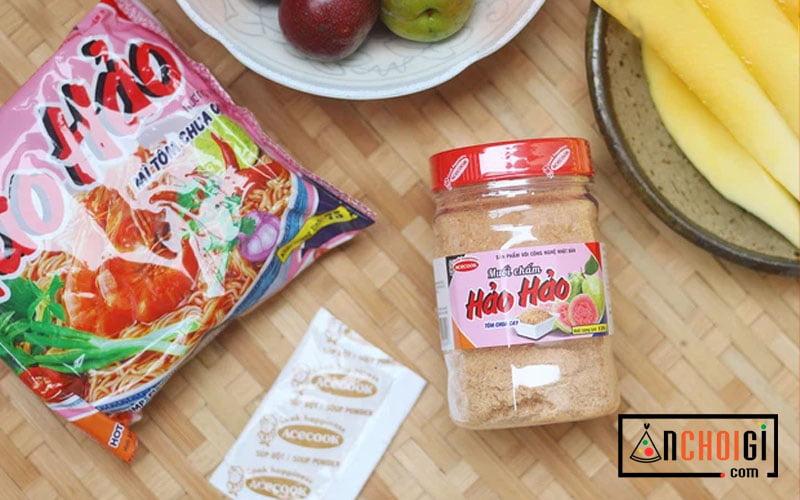 Review muối tôm Tây Ninh chấm trái cây ngon