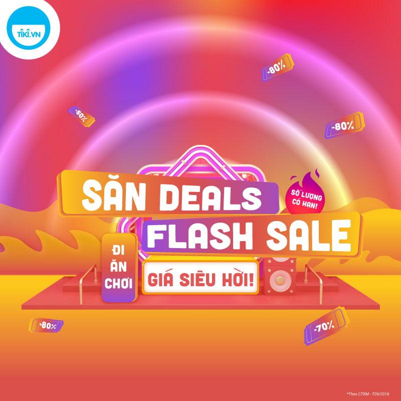 Tiki Flash Sale